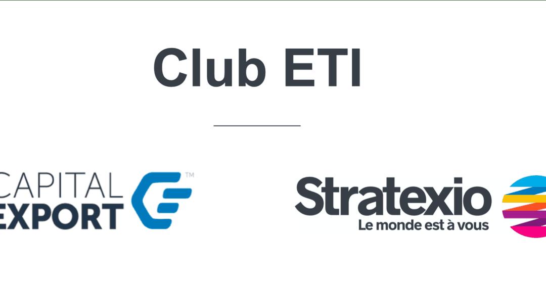 Capital Export & Stratexio lancent le 1er Club ETI