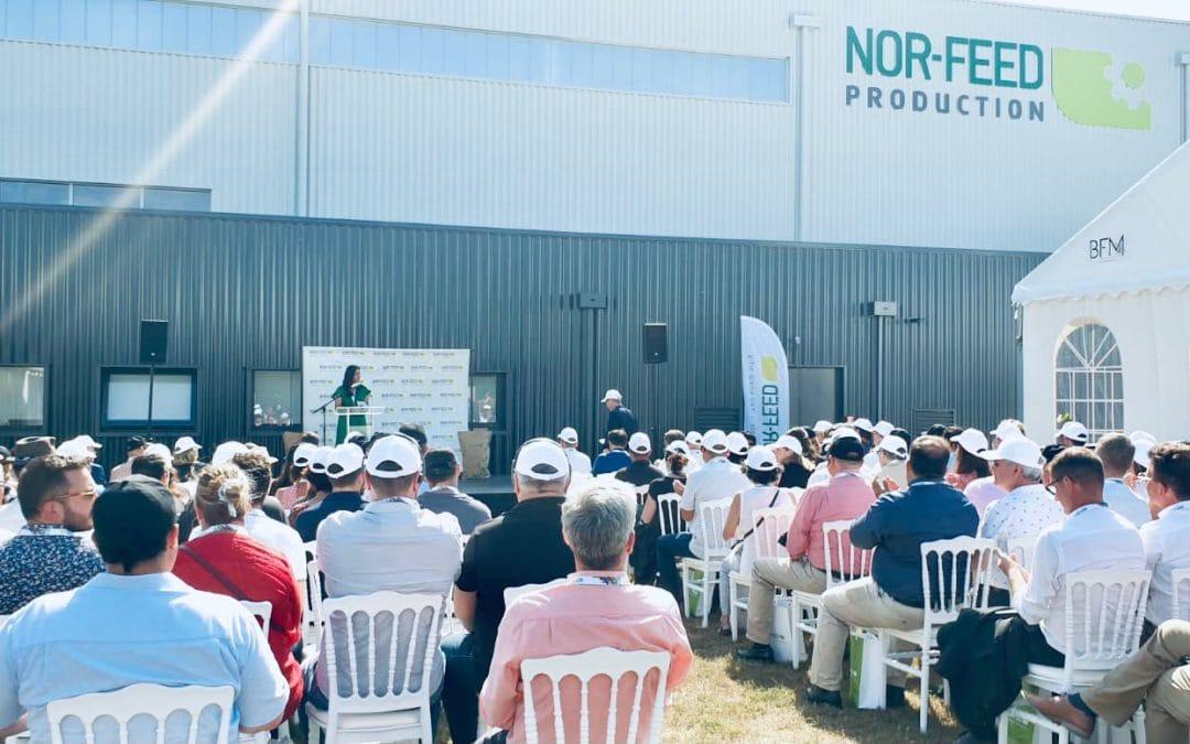 Inauguration de la nouvelle usine Nor-Feed